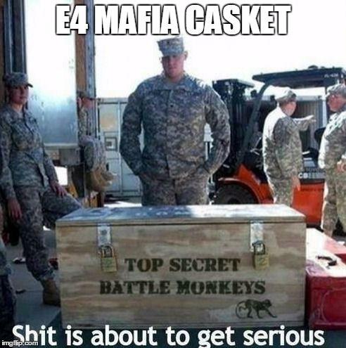 "E4 MAFIA: ""We put the FUN in funeral..."" Meme Generator - Imgflip"