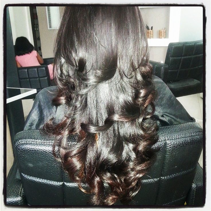 haircolor, cut and blowdry by cuttingstation maldives