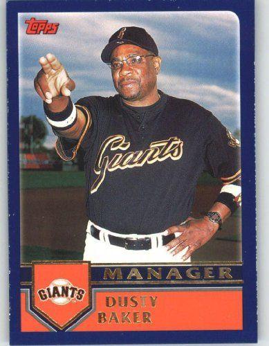 2003 Topps Home Team Advantage w/HTA Logo #286 Dusty Baker MG - San Francisco Giants (Manager) (Baseball Cards) by Topps Home Team Advantage w/HTA Logo. $0.88. 2003 Topps Home Team Advantage w/HTA Logo #286 Dusty Baker MG - San Francisco Giants (Manager) (Baseball Cards)