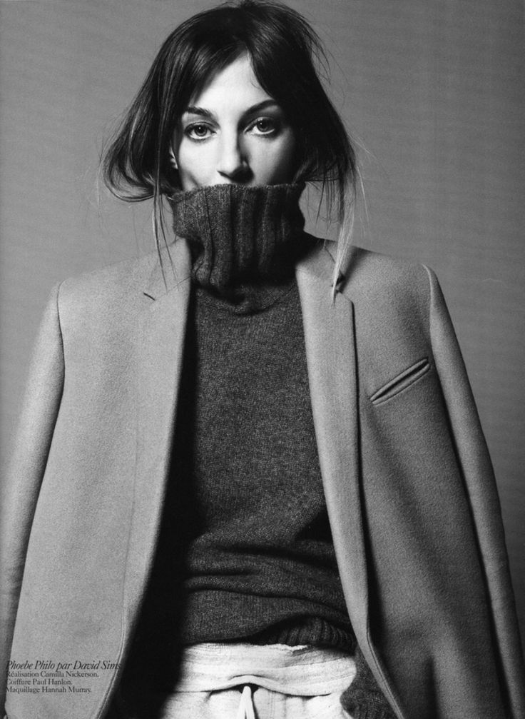 Phoebe Philo by David Sims for The Gentlewoman