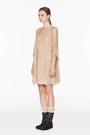 TWIN-SET Simona Barbieri :: SS15 :: Dresses :: Lace Dress :: K2S5GA