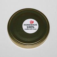 label produk sticker produk makanan homemade made