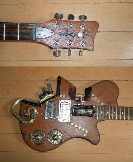 steampunk+women+smoking | Ten Incredible Steampunk Guitars steampunk guitar – 1-800-RECYCLING