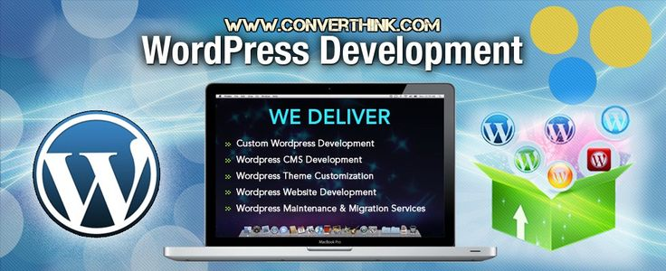Our experienced  WordPress website designer has successfully developed over a hundred of WordPress websites and has hands on experience in customizing Wordpress theme applications for the varying requirement of our customers globally. #WordPress #website #designer #converthink