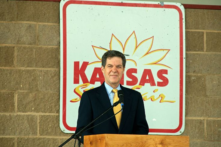 Republican Governor Sam Brownback canceled the regular updates that were supposed to show how tax cuts helped growth.