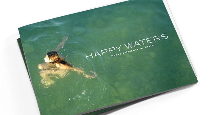 Bildband von Ute Kledt in limitierter Auflage mit persönlicher Signatur - Happy Waters #happywaters #utekledt