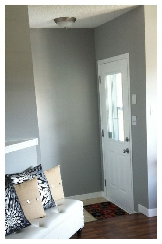 Classic Silver By Behr A Base Of Our Own Pinterest