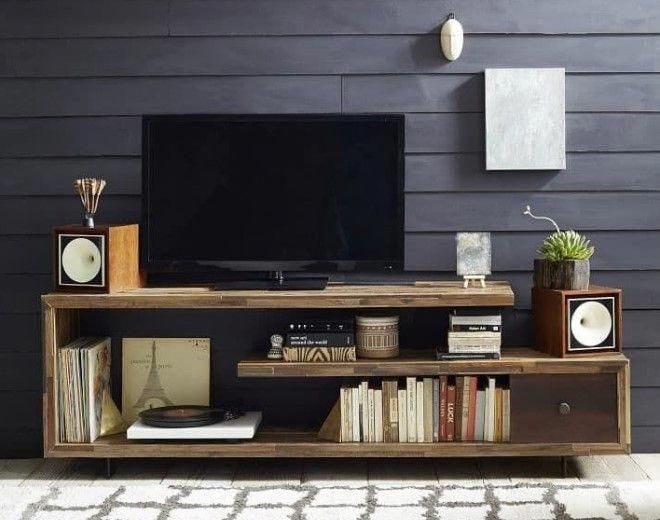 Check Out These 11 Very Different But Incredible Diy Tv Stand Project Ideas That Step You Through Building A Con Imagenes Mesas Para Tv Muebles Televisor Muebles