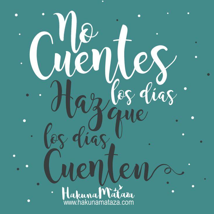 #HakunaMataza #Lunes #FelizSemana #Frases #Motivación #RegalosPersonalizados