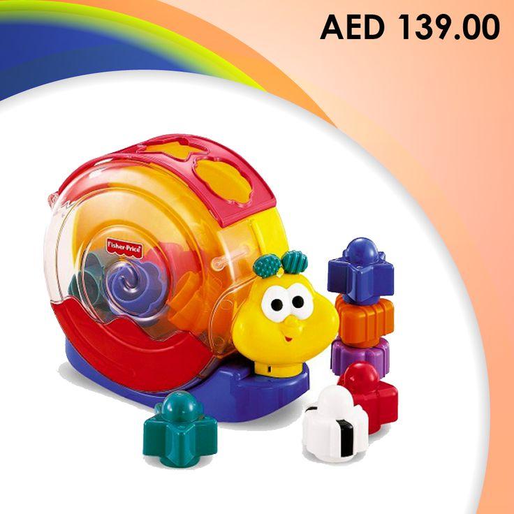 Fisher- Price Brilliant Basics Musical Singing Snail #Toys #toystore #kids #preschool #games #kidstore #online #shopping #Kidsactivityset