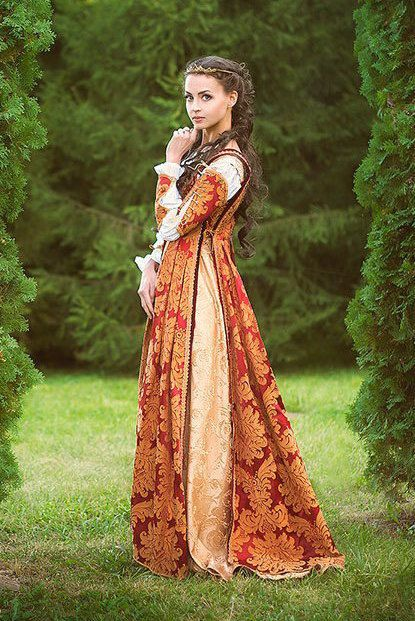 Italian Renaissance Costume made to order from by DressArtMystery