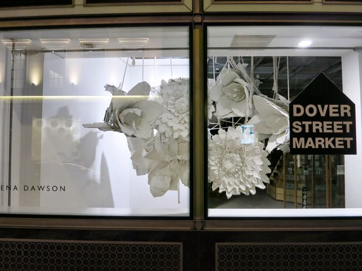 www.retailstorewindows.com: Dover St. Market, London