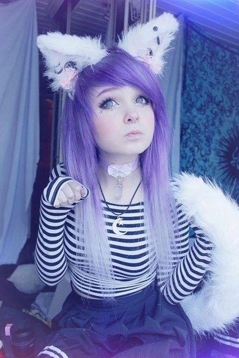 Hanna Kittymilkgore Milkwhore Cute Pastel Purple