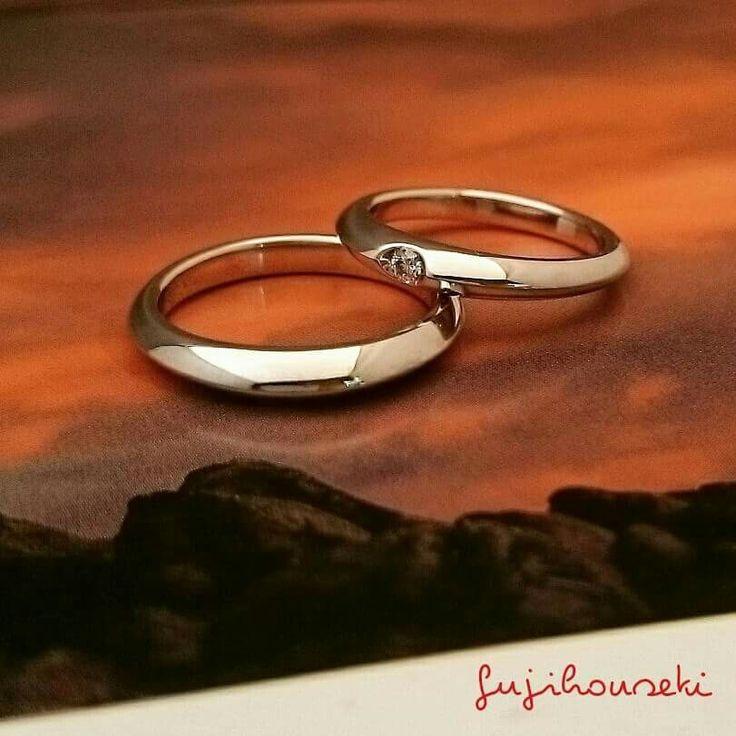 #藤宝石 #フルオーダーの結婚指輪