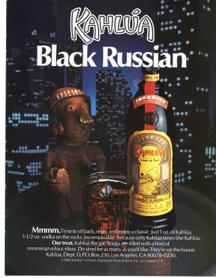 Dying for Chocolate: Black Russian Truffles: National Vodka Day