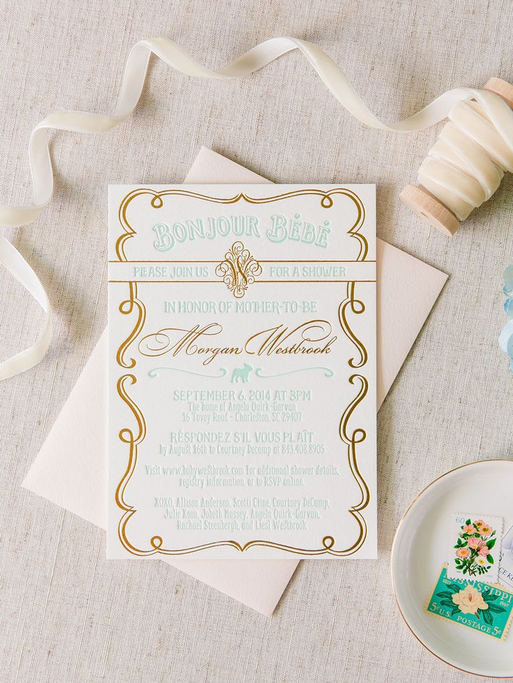 60 best paper pretties by scotti cline designs images on pinterest bonjour bebe baby shower invitation by scotti cline designs photo by the stopboris Images