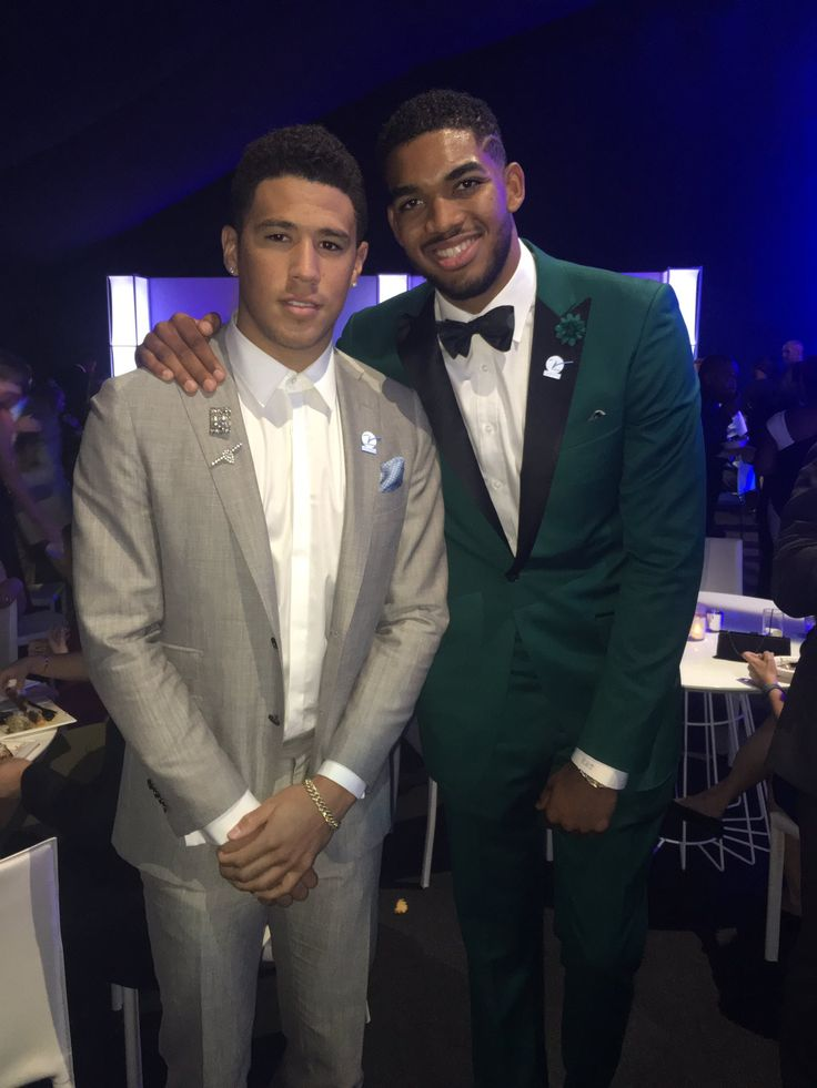 7/14/2016.  Former Cats Devin Booker and Karl Anthony Towns at the ESPYS!  #BBN