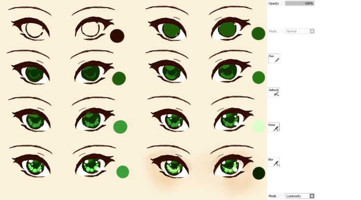 Scribble Eyes Drawing : Galaxy eyes tutorial by kipichuu on deviantart art