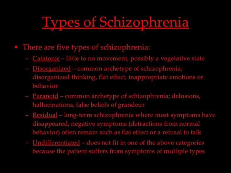 Best     Types of schizophrenia ideas on Pinterest   Types of     Pinterest