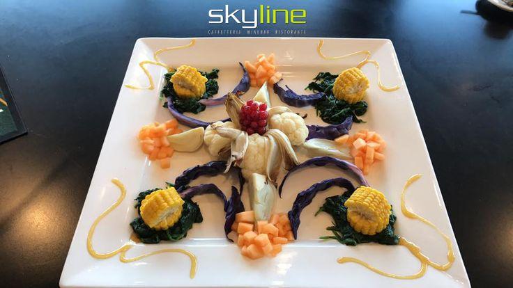 Vegetariano +Skyline Caffè...  #skyline   #veg   #skylinerimini   #ristoranterimini
