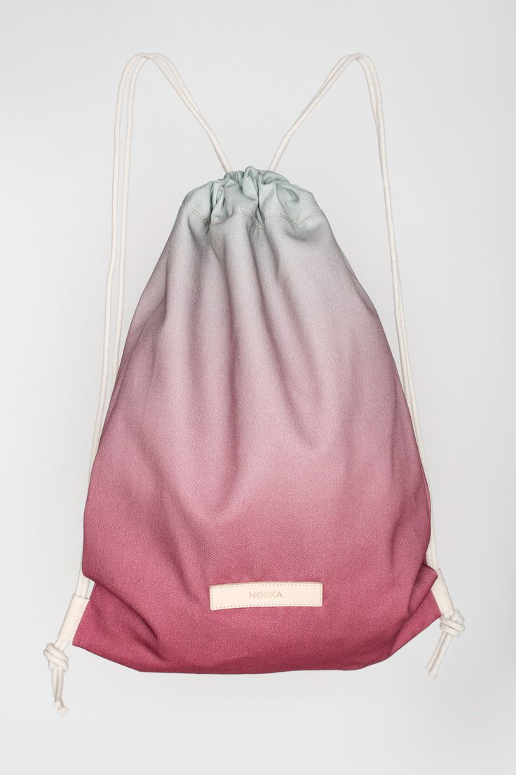 Plum Tree | NOSKA SHOP #PlumTree #Rucksack #plum #tree #OpalBlue #Malaga #drawstring #bagpack