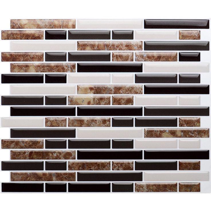 vamos tile premium anti mold peel and stick tile backsplashstick on backsplash wall tiles - Tijdelijke Backsplash