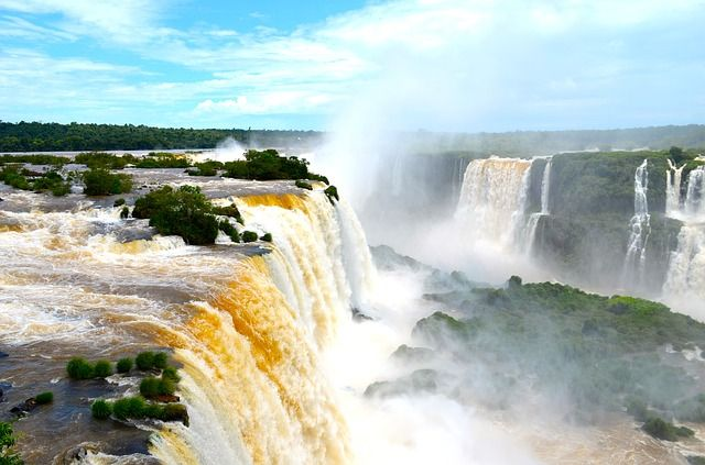 Iguazu Falls from above