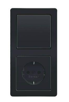 Plug socket with switch Q.1 Berker