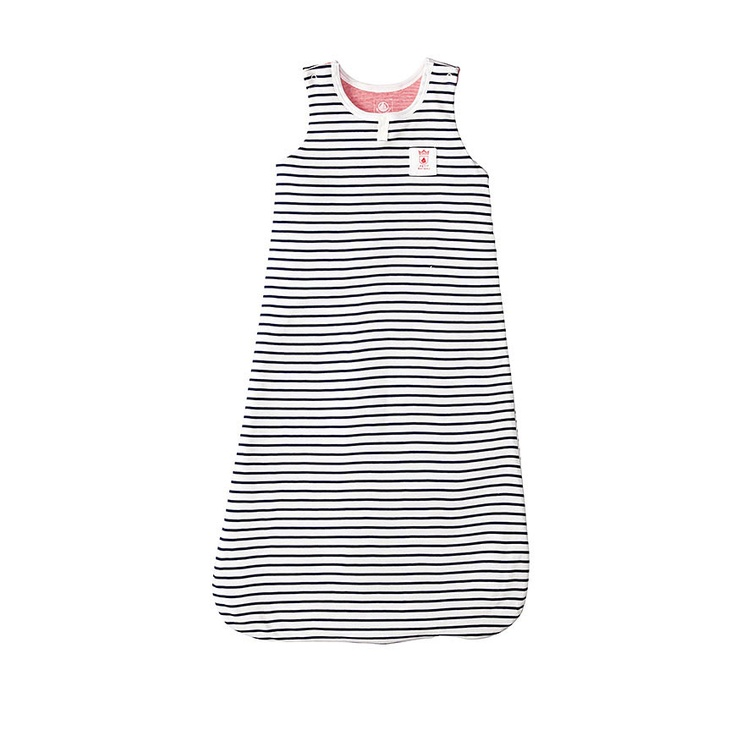 Baby Boy Sailor-Striped Bunting Bag | Petit Bateau