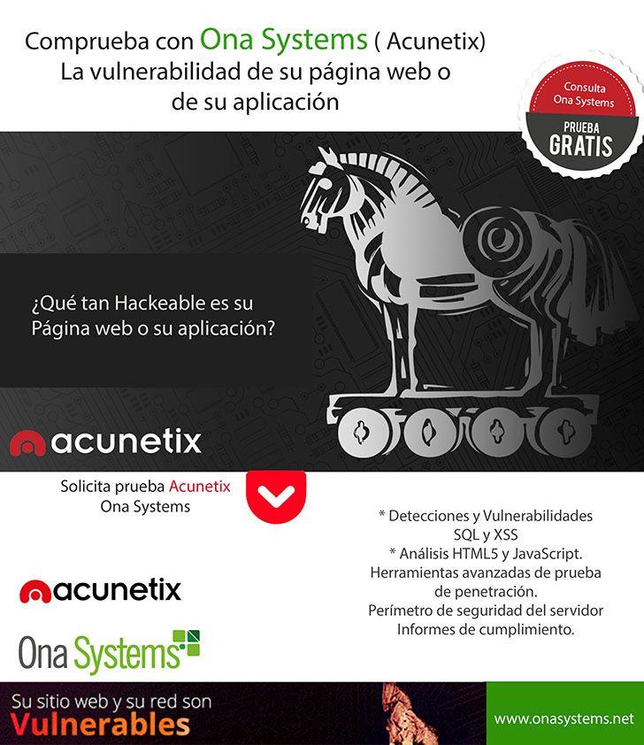 Actualmente las páginas web y aplicaciones, son el nuevo campo de batalla de los ciberataques, los cuales buscan tener acceso a datos corporativos y personales. ¿Qué tan vulnerable puede ser su página web o aplicación? Ona systems presenta la solución de seguridad.