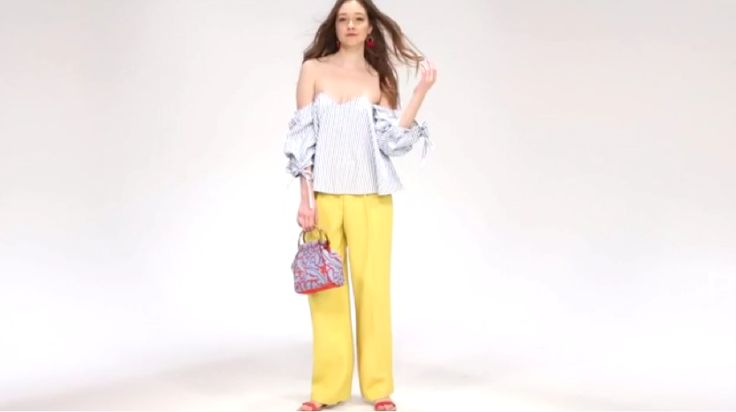 We took one bright yellow wide-leg pant and pieced together three fresh outfits.
