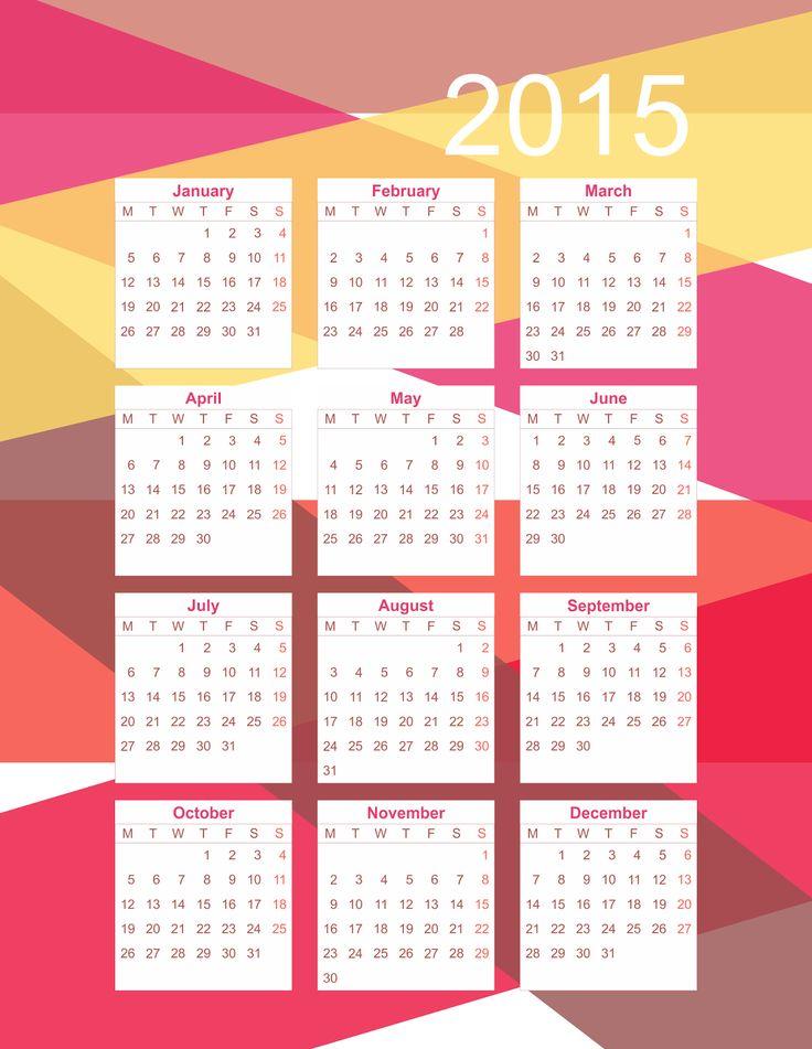 Year Calendar Diy : Best ideas about free calendar on pinterest