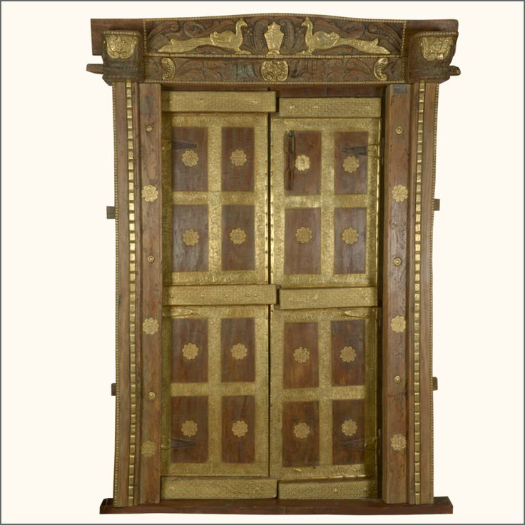 Teak wood doors collection starting at only $150.