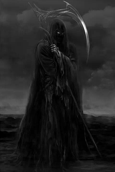 Afbeeldingsresultaat voor men without a face grim reaper with guitare on tumblr