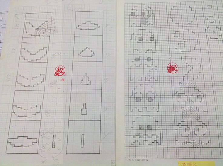 Pac-Man Creator Toru Iwatani Shares His Original Sketches for the Iconic Video Game