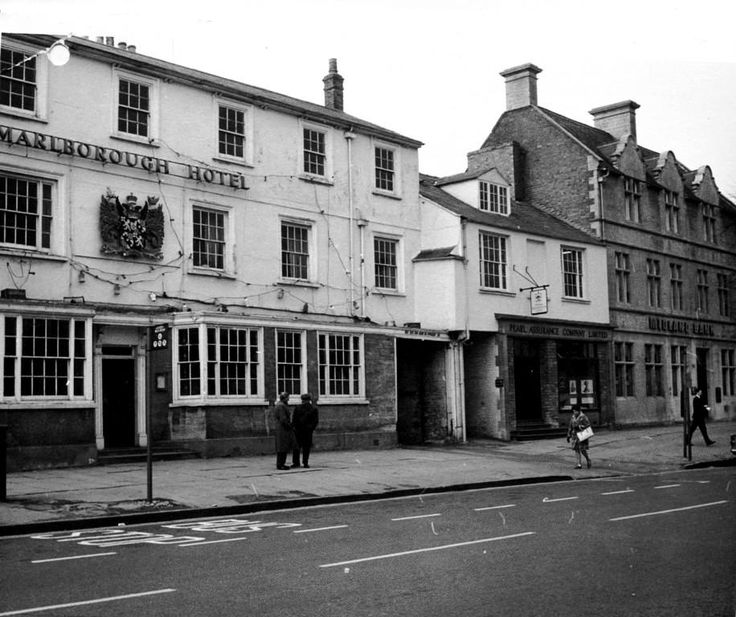 The Blue Boar, in 1972. Image supplied by Witney & District Museum