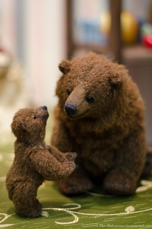 I adore this pair of bears More