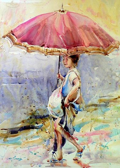 Caught in the Rain by Lara  Cooper