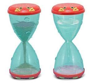 Hourglass sand toys- how fun!