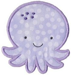 Octopus Applique - 2 Sizes! | Featured Products | Machine Embroidery Designs | SWAKembroidery.com
