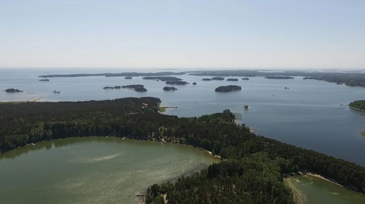 Finland land of Lakes and rivers