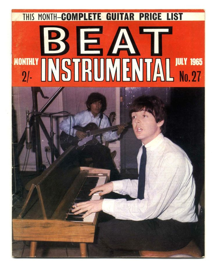 BEAT INSTRUMENTAL Magazine No 27 July 1965 Dylan Who Them Screaming Lord Sutch Ivy League Rolling Stones Seekers