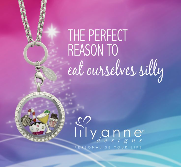 A Christmas Personalised Locket from Lily Anne Designs.