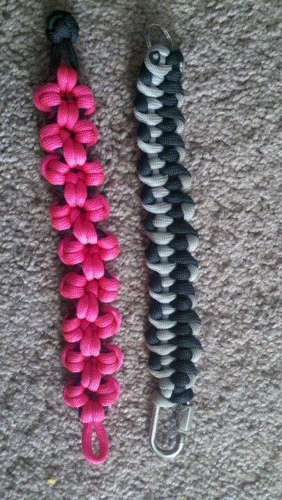 2 more Paracord bracelets I made.