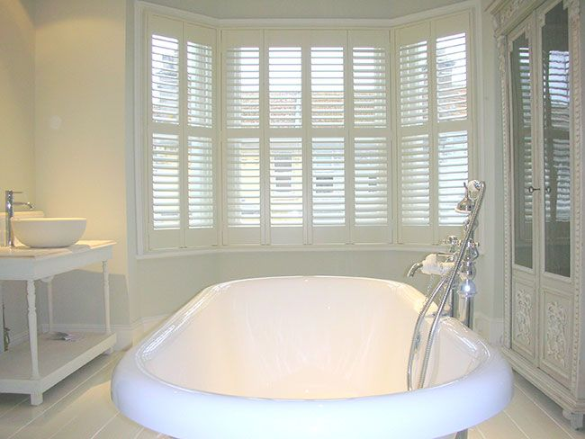 40 Best Images About Bathroom Inspiration Plantation Shutters On Pinterest Contemporary
