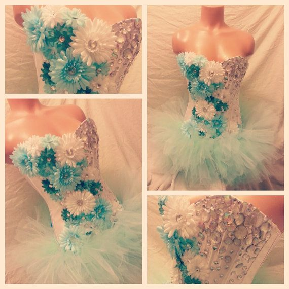 135Hey, I found this really awesome Etsy listing at https://www.etsy.com/listing/193403597/mint-daisy-corset-rave-bra-and-bottoms