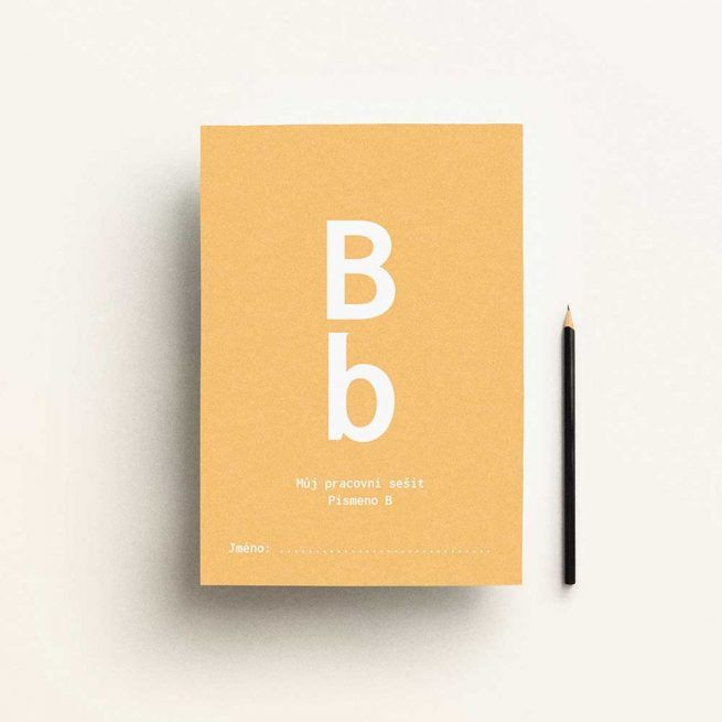FREE Alphabet activity book letter B, made by pipasik