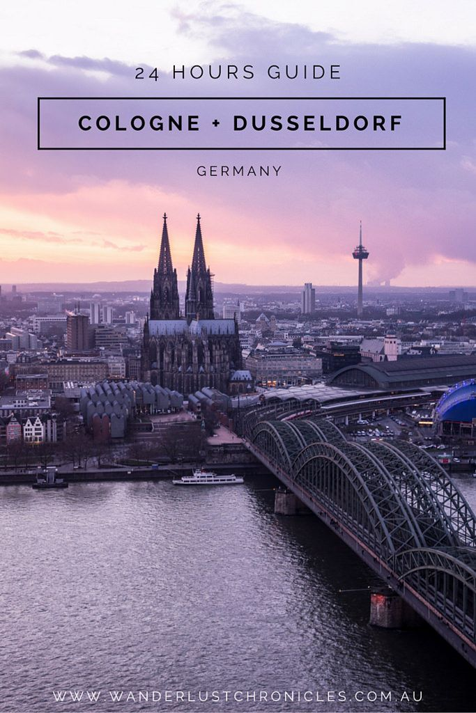 24 Hours in Cologne and Dusseldorf in