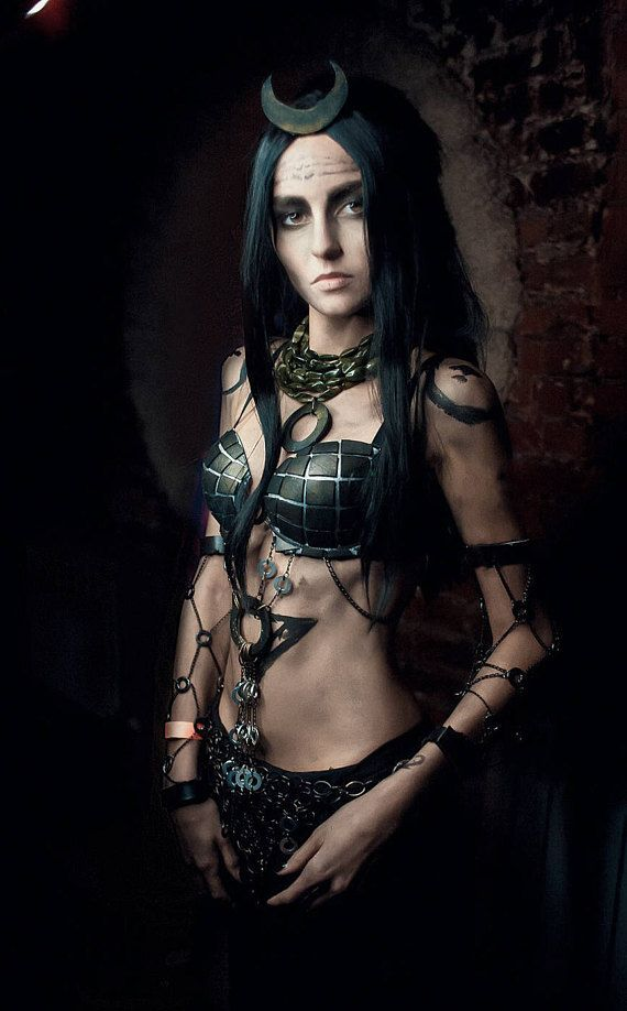 Enchantress Witch Cosplay Costume Suicide Squad
