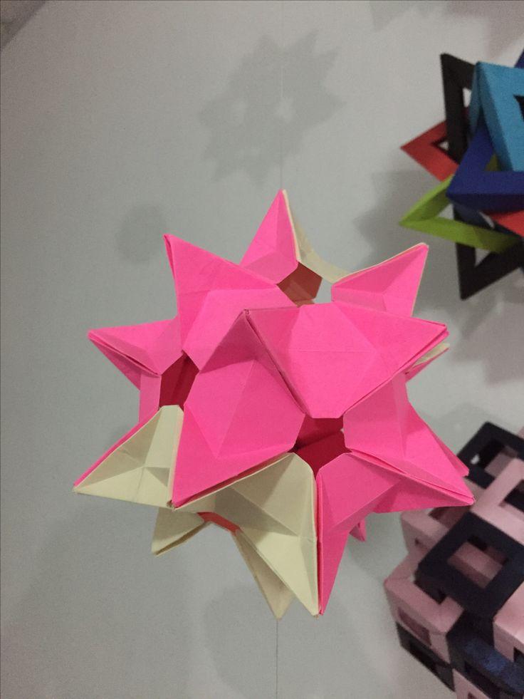 Kusudama Crystal star